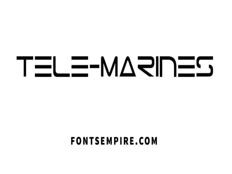 Tele Marines Font Free Download