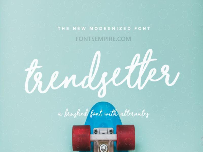 Trendsetter Font Family Free Download