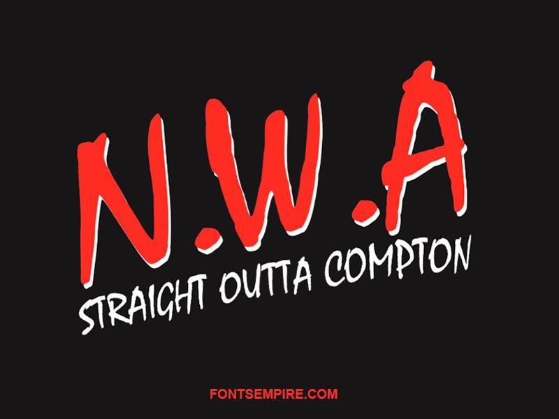 NWA Font Family Free Download