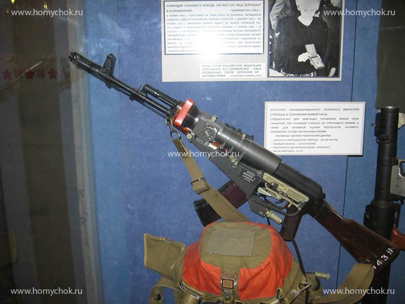 Лазерный иммитатор стрельбы на базе автомата Калашникова
