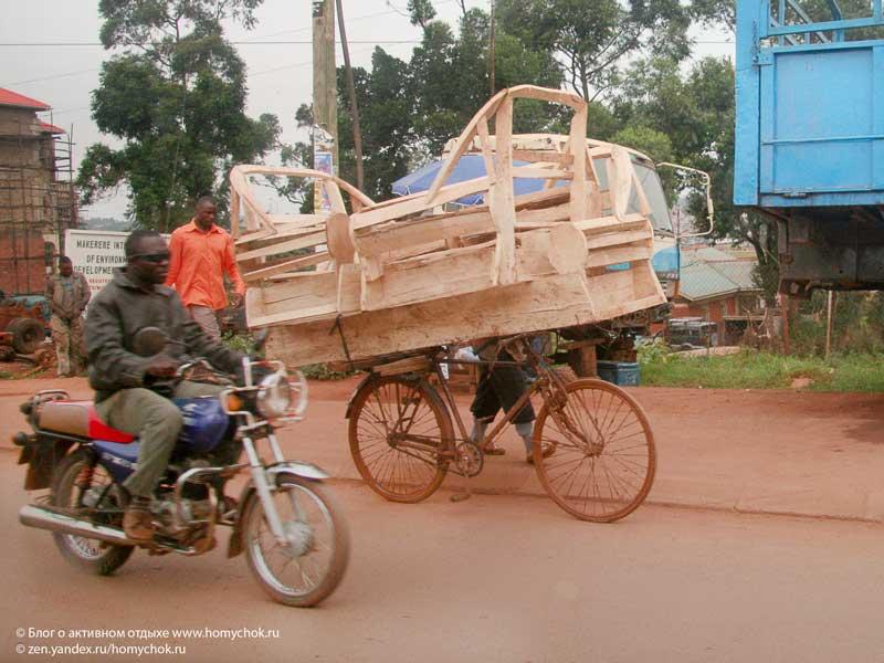Колоритные улицы кенийских городов