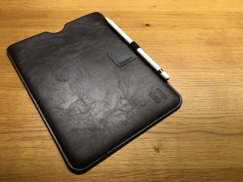 Dockem Kunst-Ledertasche fürs iPad plus Pen Loop von Leuchtturm