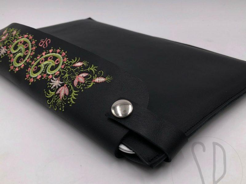 03 - come cucire il porta notebook in pelle - sara poiese