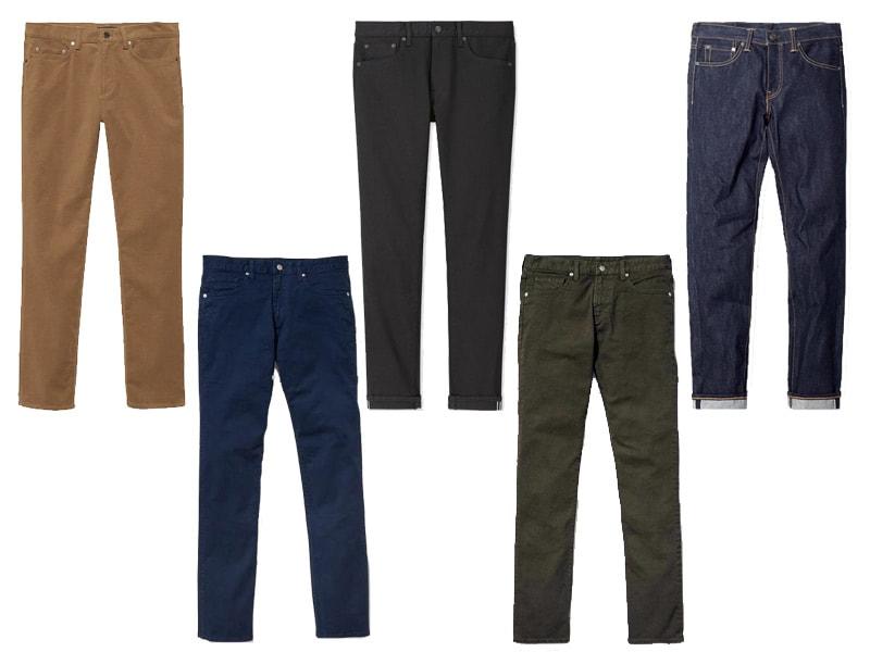 men's winter fashion pants
