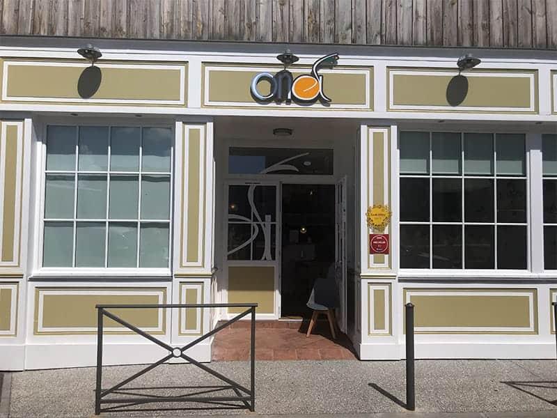 ONA restaurant gastronomique bio et vegan