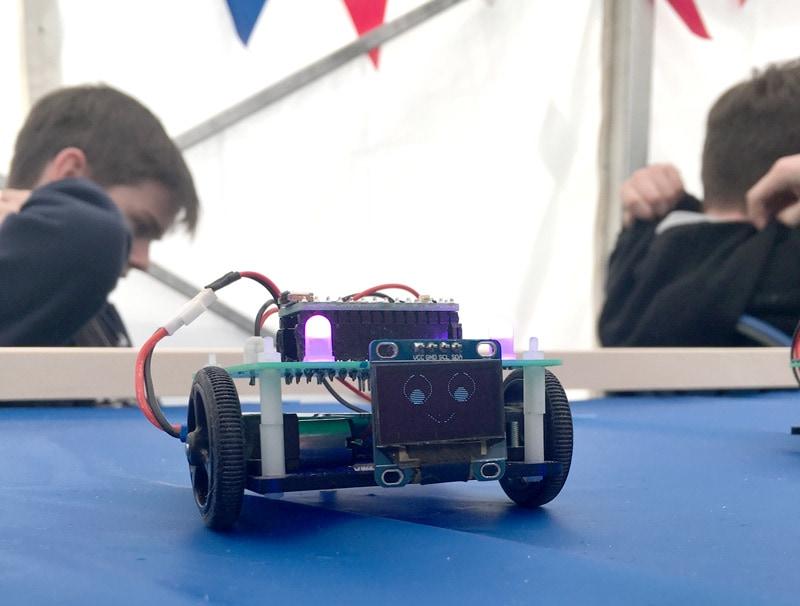Simon Says Robots
