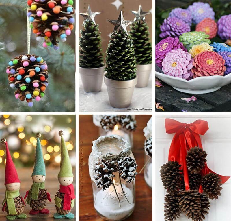 Beautiful DIY Pine Cone Crafts Ideas