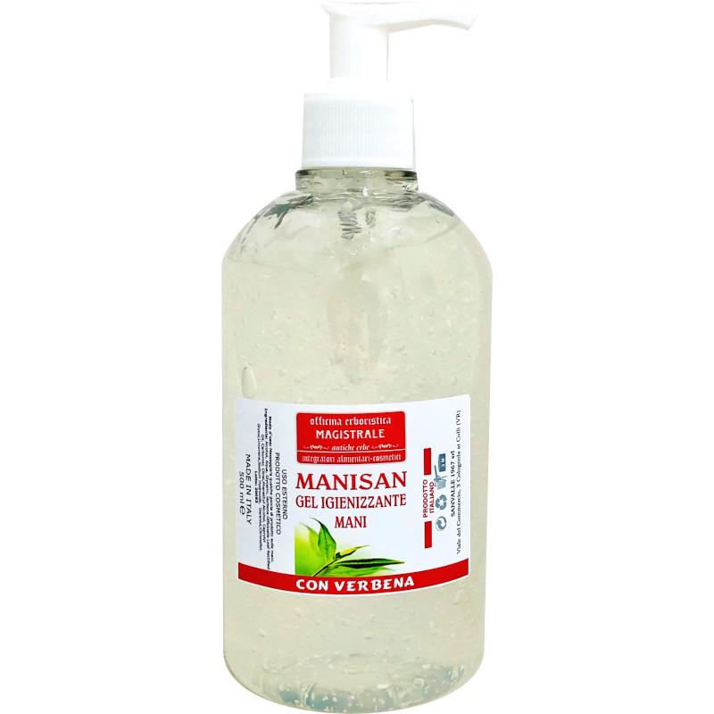 Gel igienizzante alcolico Sanvalle confezione da 500 ml