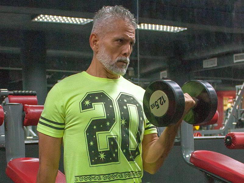 Muskelaufbau im Alter