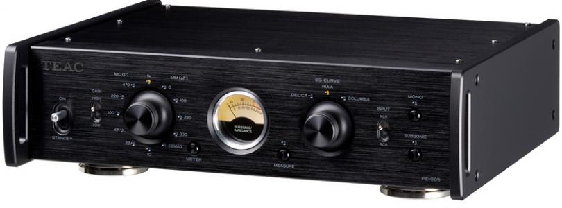 TEAC Reference series : la famille 505 s'agrandit avec un préamplificateur phono