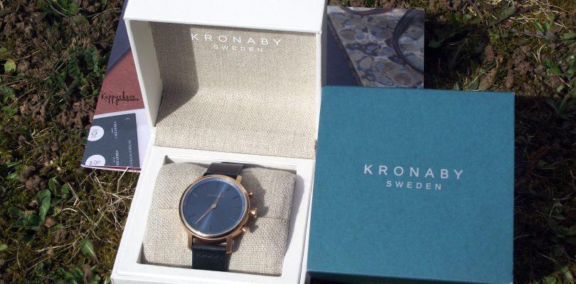 Kronaby : une montre connectée pas comme les autres