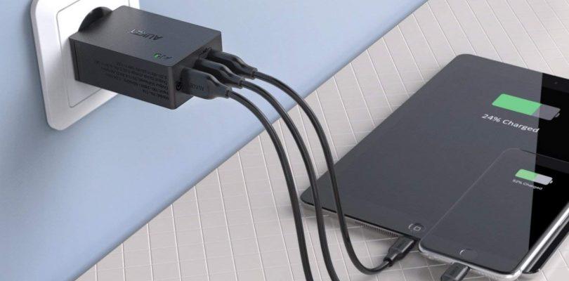 Aukey : des chargeurs secteur USB de qualité