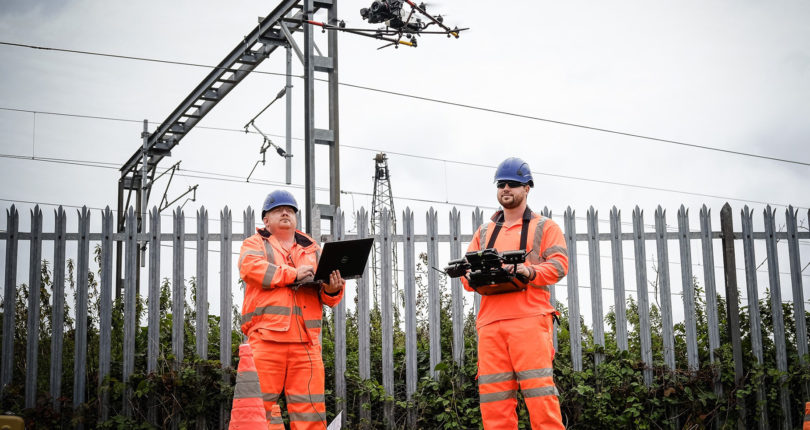 Railway UAV Surveys