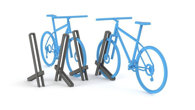 Urbania Fahrradständer IKS One 3