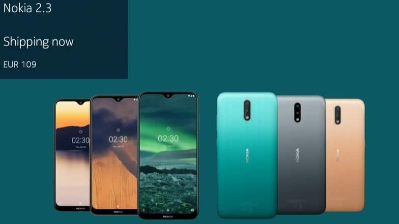 Novo Nokia 2.3
