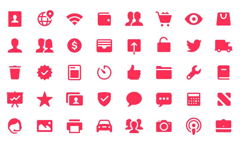 darmowe ikony ios 11