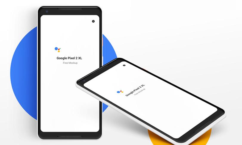 darmowy mockup google pixel 2xl