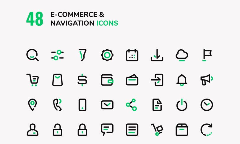 darmowe ikony ecommerce