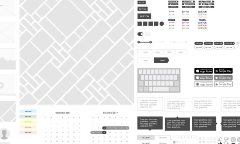 darmowa biblioteka dla ux designera