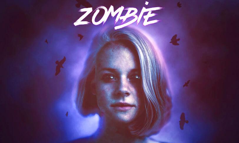 darmowa akcja photoshop zombie halloween