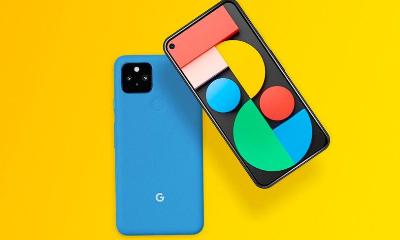 darmowy mockup google pixel 5
