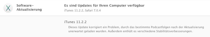 Apple iTunes Update