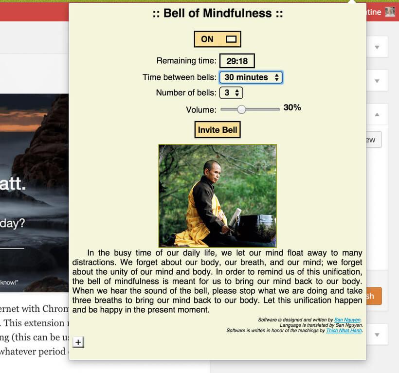 Mindfulness tips - Mindfulness Exercises - MINDFULNESS BELL APP