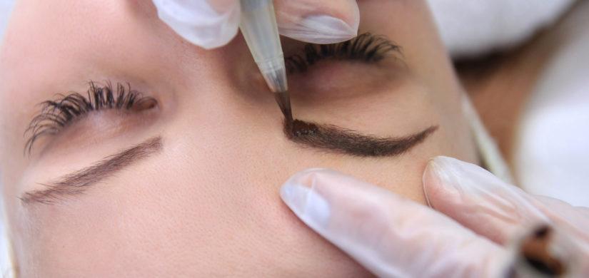 Augenbrauen Schattierung