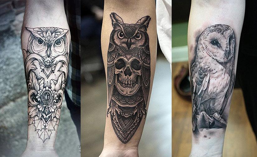 значение татуировки совы