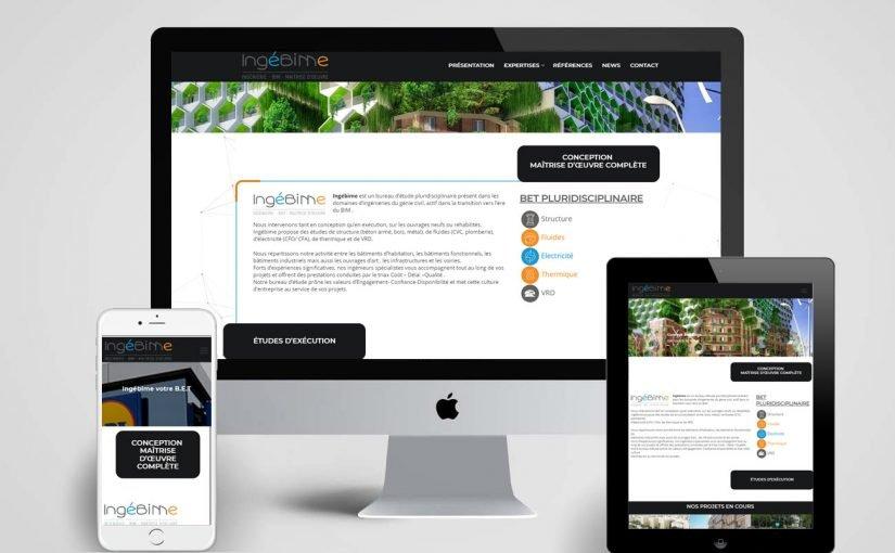 création site web, bureau d'étude BIM