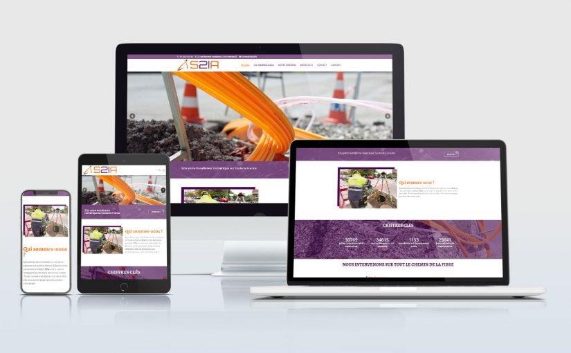 Création d'un site internet société spécialisée dans l'installation de fibres optique