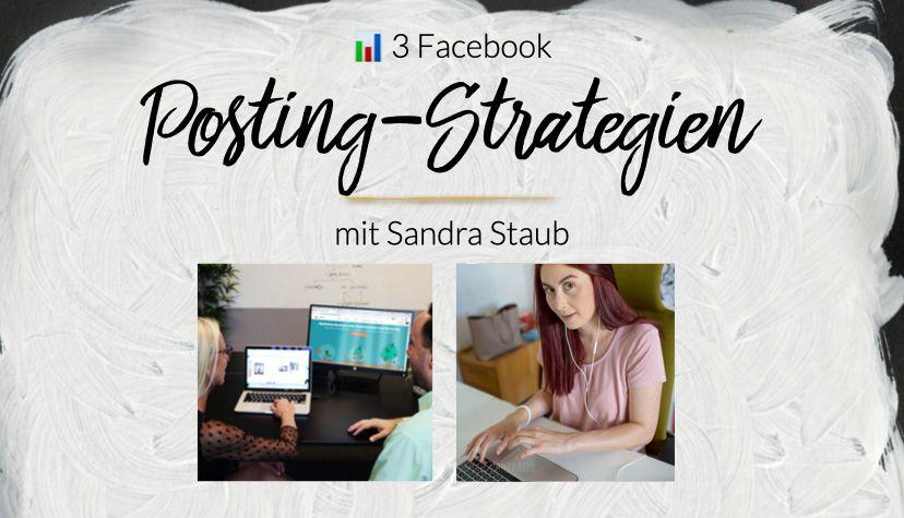 Finde jetzt eine Posting-Strategie für Dich