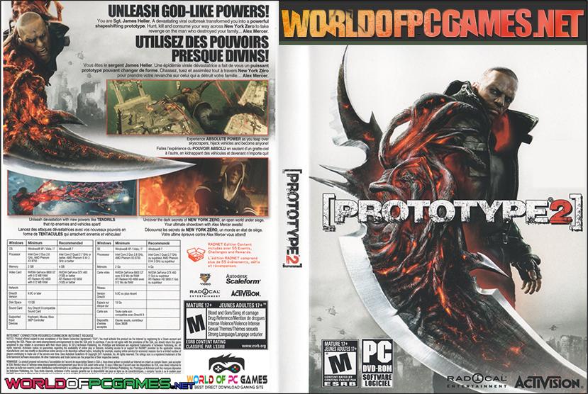 Prototype 2 Free Download PC Game By Worldofpcgames