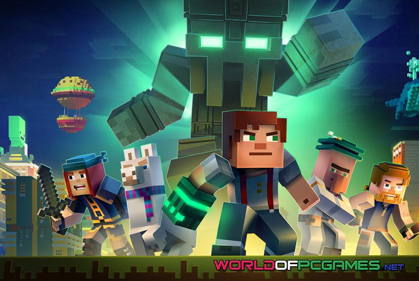 Minecraft Story Mode Season Two Free Download PC Game By Worldofpcgames.net