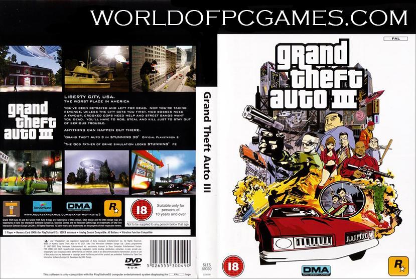 GTA 3 Free Download PC Game By Worldofpcgames.com