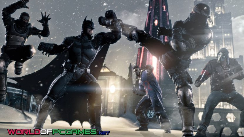 Batman Arkham Origins Free Download PC Game By Worldofpcgames