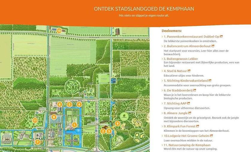 Stadslandgoed de kemphaan Almere