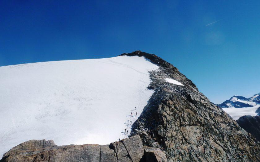 Seilschaft am Berg