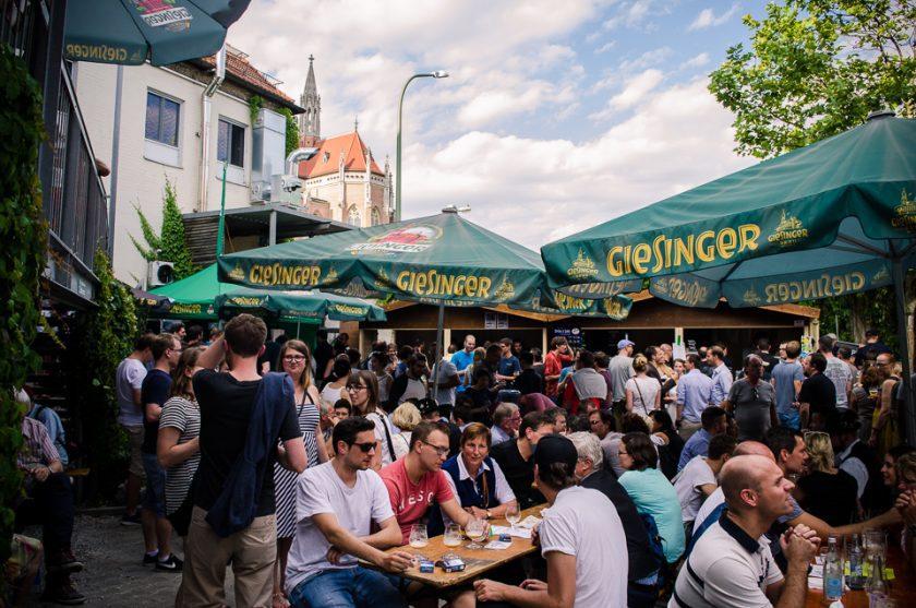 Lange Nacht der Brauereien 2016 München // Foto: ISARBLOG
