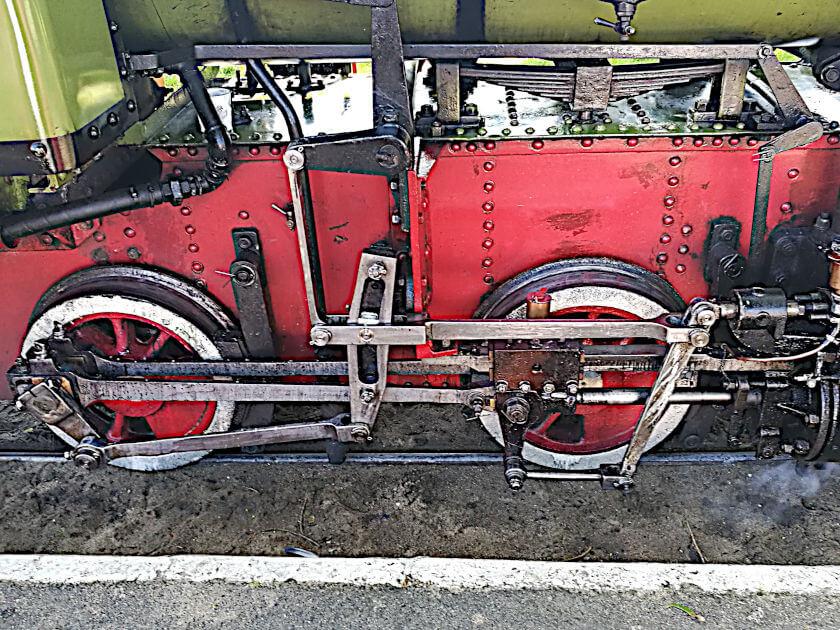 wózek jezdny parowozu