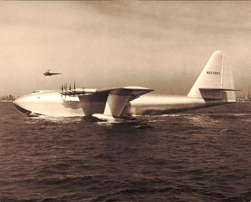 Herculus H 4 Spruce Goose grootste vliegtuigen