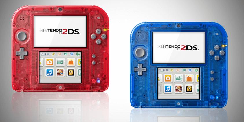 Der 2DS von Nintendo