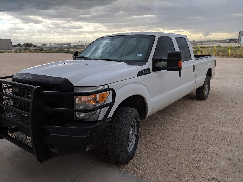 Fleet GPS in Midland Texas Pickup Truck
