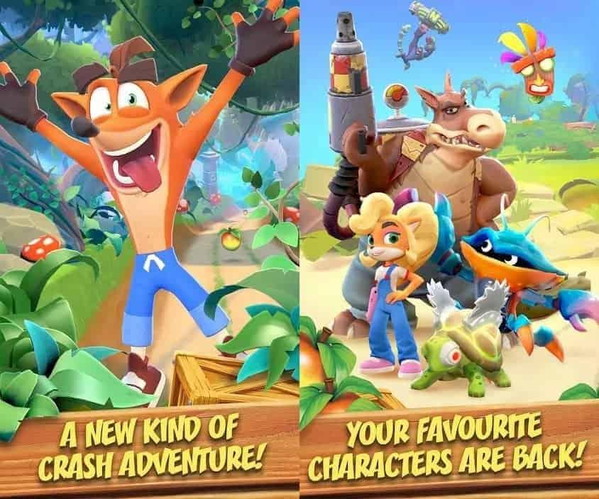 Crash Bandicoot Play Store