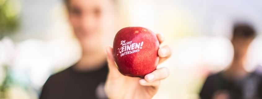 Der Energy Challenge-Apfel