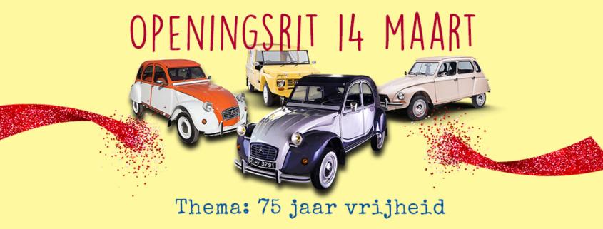 openingsrit 2cv club nederland