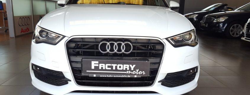 Frontal Audi A3 Sedan 1.8 TFSI