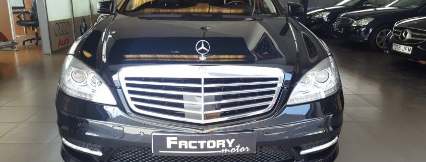 Frontal Mercedes-Benz S 500
