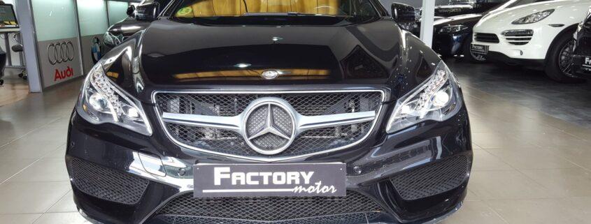 Frontal Mercedes-Benz E 220d Cabrio