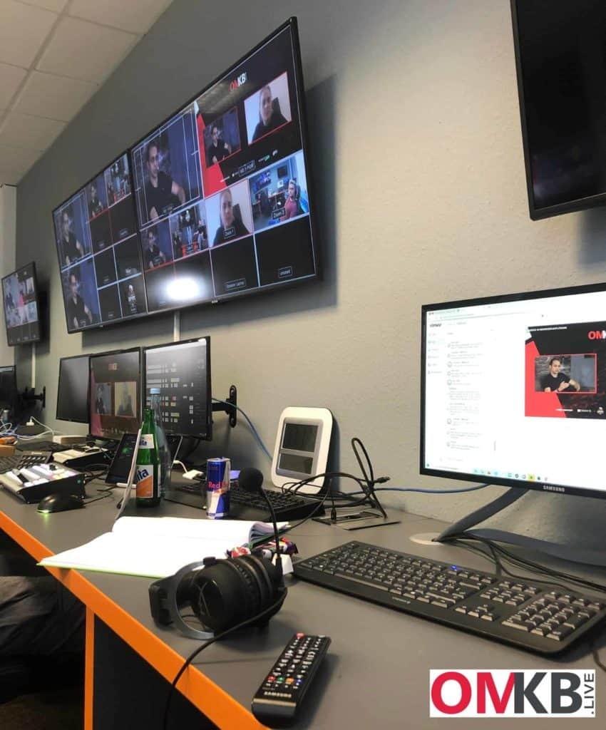 OMKB.live - technische Umsetzung seitens der Esport Factory